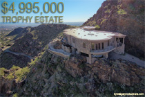 5665 E Cheney Dr, the trophy estate.